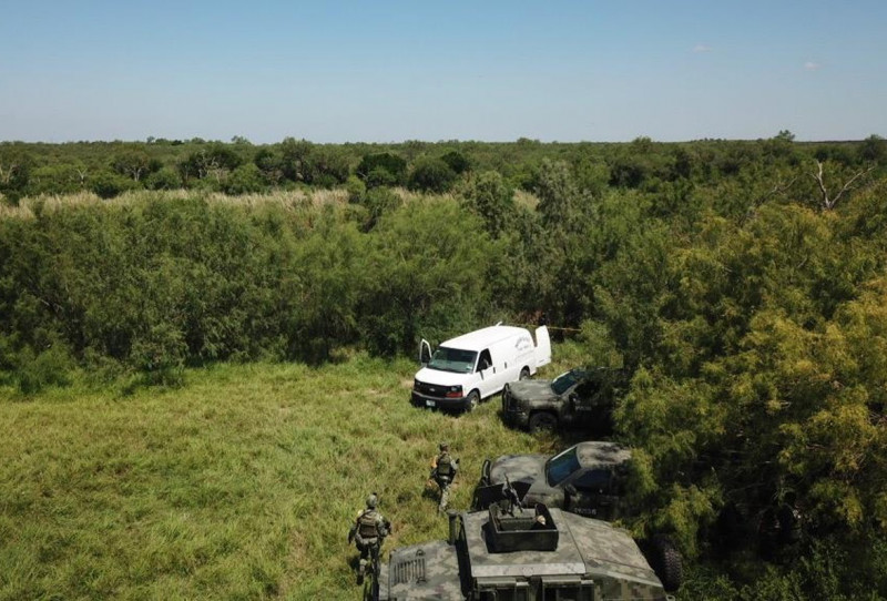 Elementos del Ejército Mexicano, abaten a nueve presuntos delincuentes que los atacaron