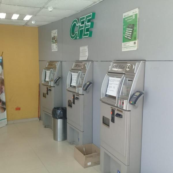 Le roban a la CFE, vacían cajeros automáticos en oficinas de Culiacán