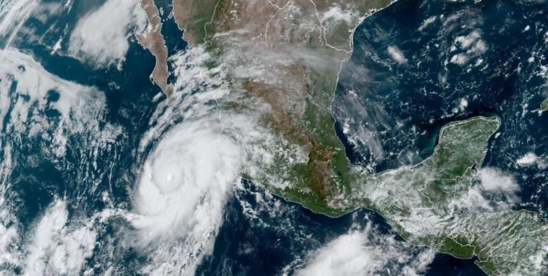 """Genevieve"" se aproxima a Baja California Sur: se esperan lluvias fuertes para Sinaloa"