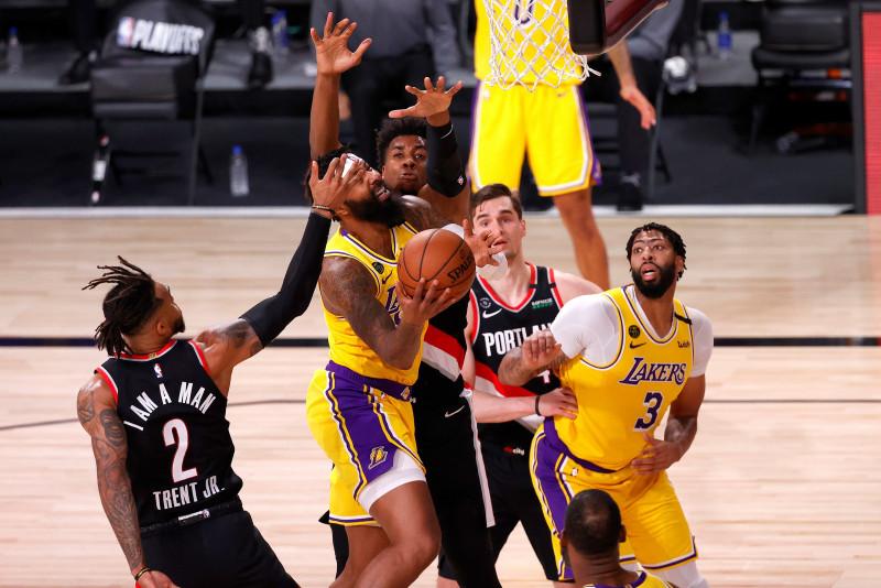 Los Trail Blazers vencieron a los Lakers en el primero del Playoffs