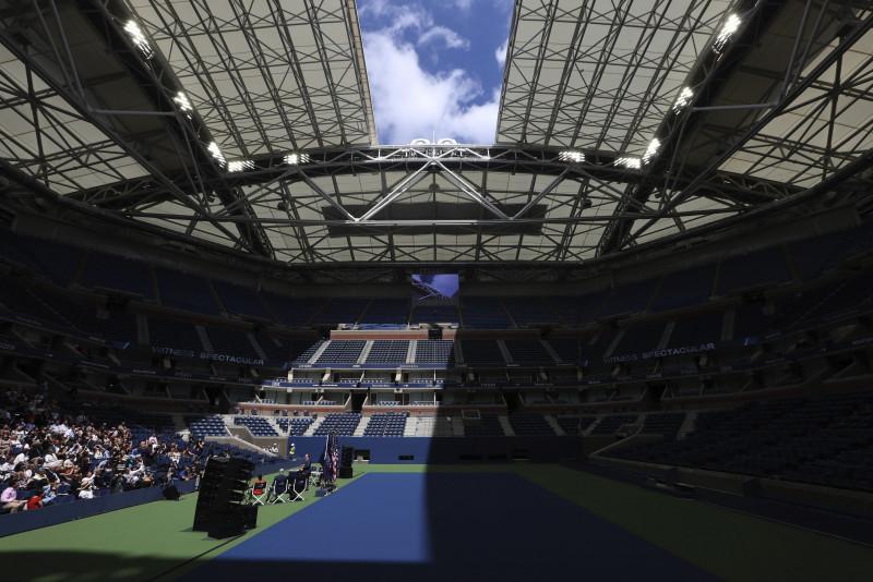 Positivo en New York previo al Abierto de Tenis USA