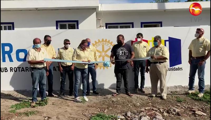 """Inauguran obras Club Rotario Oriente y """"Una Gota en el Océano"""""""