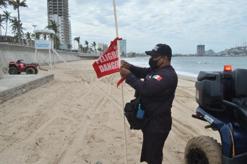 Cierran el puerto a la navegación marítima en Mazatlán