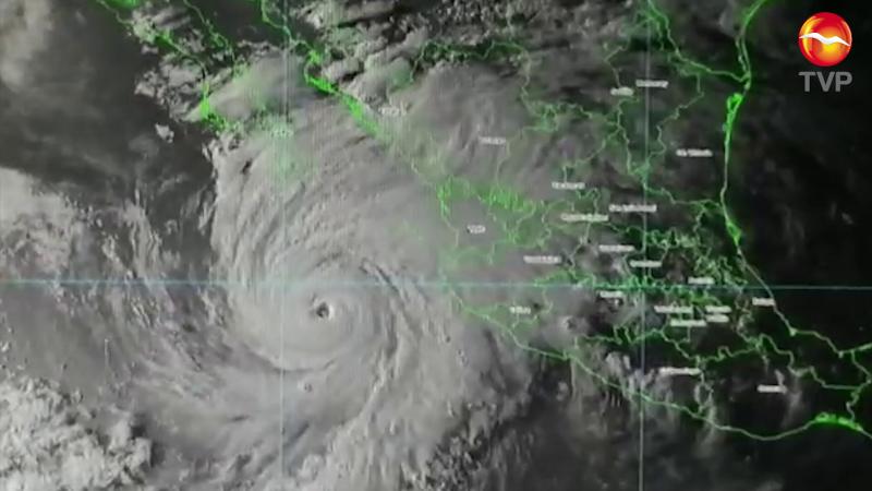 """En vigilancia permanente huracán """"Genieveve"""""""