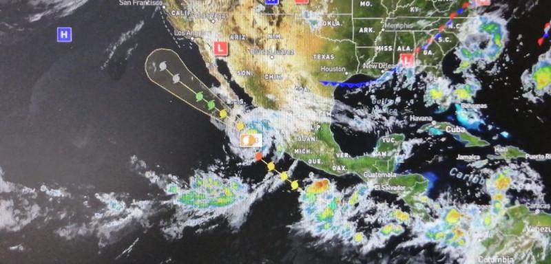 """PC alerta ante la presencia del huracán """"Genevieve"""" en el pacífico"""