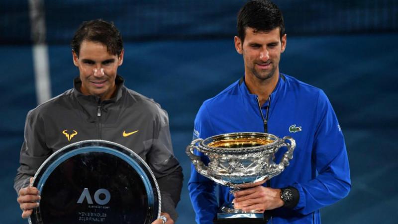 Djokovic y Nadal inscritos al Masters de Roma