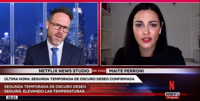 """Oscuro deseo"", la exitosa serie mexicana, anuncia su segunda temporada en Netflix"