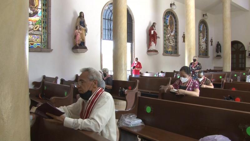 El 24 de agosto abrirán iglesias católicas sólo para oración personal