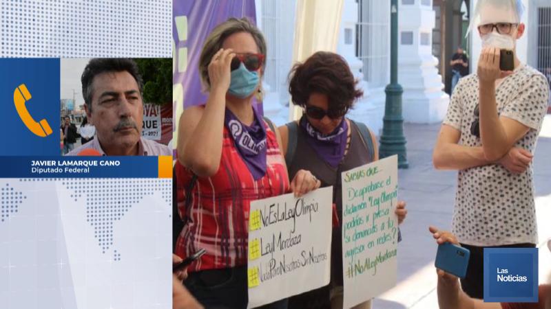 Es una burla ley olimpia en Sonora: Javier Lamarque