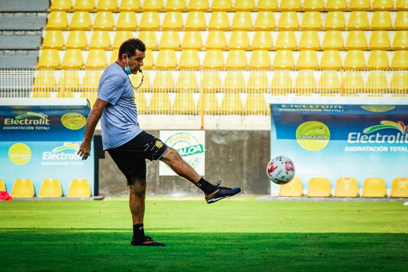 Reconoce David Patiño DT de Dorados hay talento en futbolistas sinaloenses