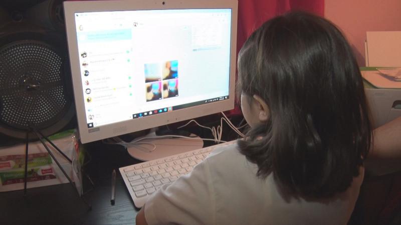 La ilusión de ver a los amigos por la computadora, fue la motivación de Mila