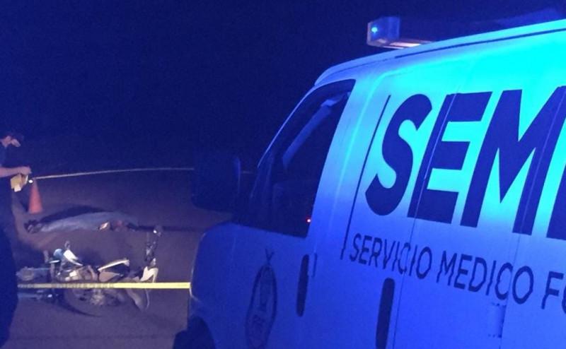 Accidente de motocicleta deja un muerto en Eldorado