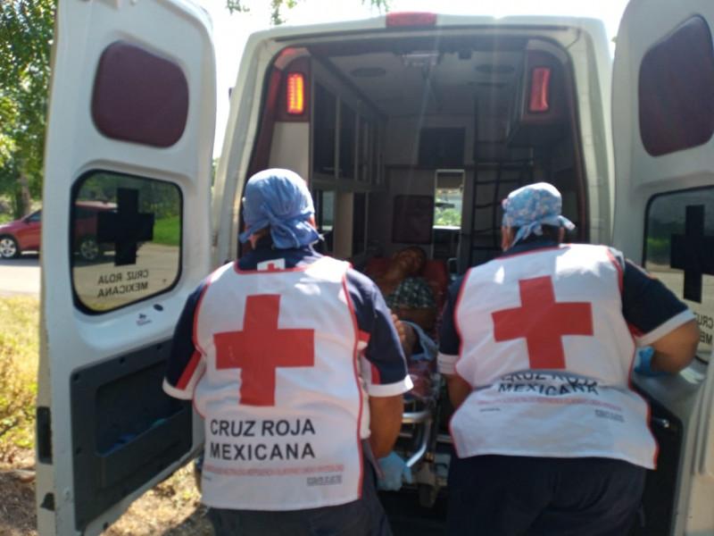 Descarga eléctrica deja una persona lesionada en Culiacán