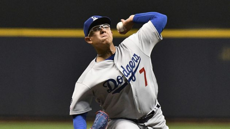 Julio Urias se va sin decisión en derrota de Dodgers ante Gigantes