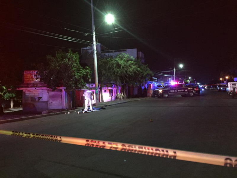 Asesinan a joven sobre la Avenida Patria