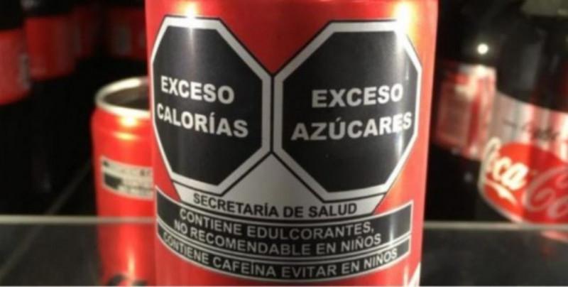 Coca-Cola tramita amparo contra el nuevo etiquetado de alimentos y bebidas