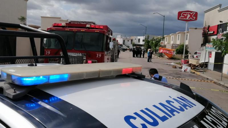 Explosión en expendio deja una mujer lesionada