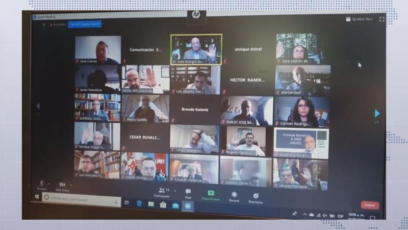 Sostienen encuentro virtual Rectores de Universidades Públicas con Diputados Federales