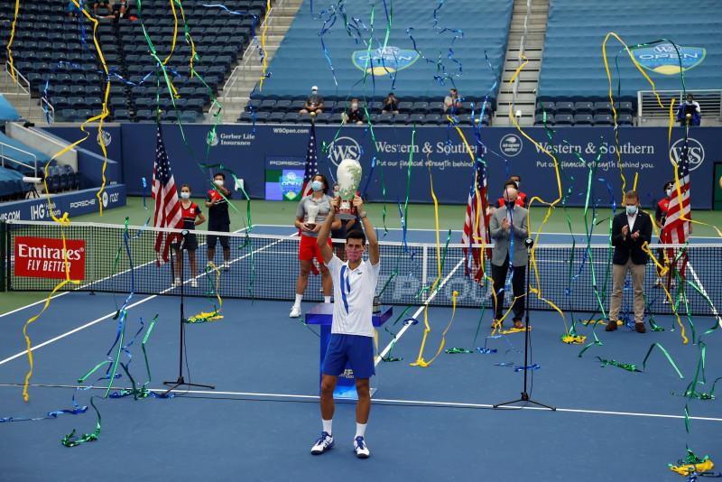 Djokovic campeón de Cincinnati
