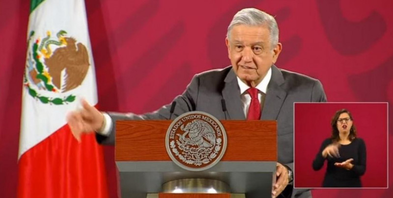 Según López Obrador, un sondeo internacional lo ubica como el segundo mejor presidente del mundo