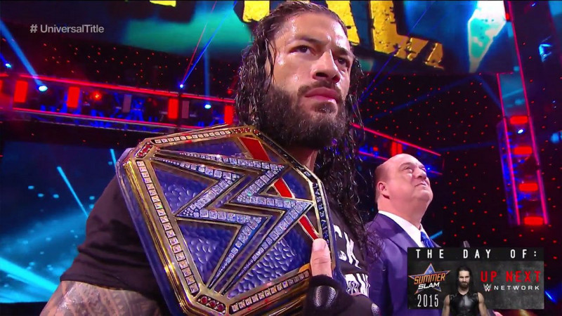 Roman Reigns es el nuevo Campeón Universal de WWE