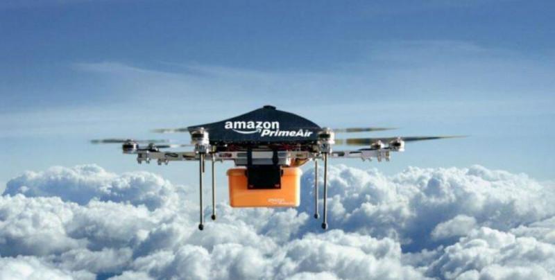 Estados Unidos le da permiso a Amazon para entregar paquetes a través de drones