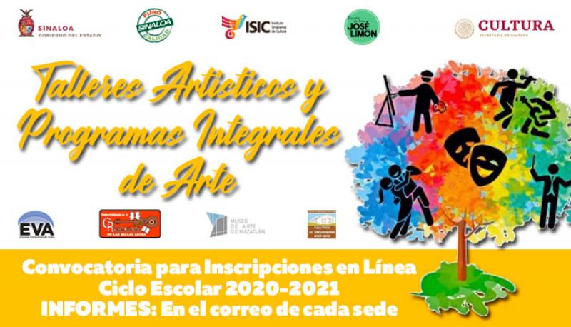 Siguen abiertas las inscripciones en línea en talleres del ISIC