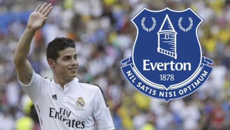 James Rodríguez ya sería nuevo jugador de Everton