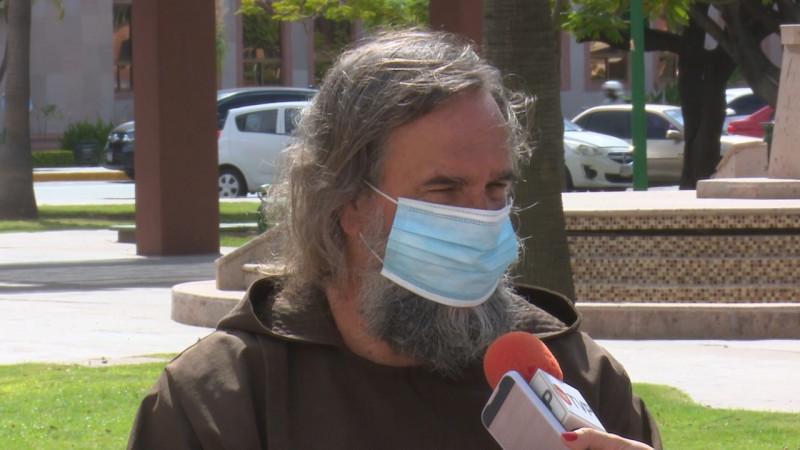 Pandemia de inseguridad requiere un plan: Fraile Franciscano