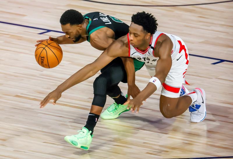 Los Celtics vencieron a los Raptors