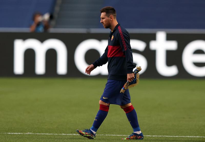 Messi plantea quedarse en el Barcelona