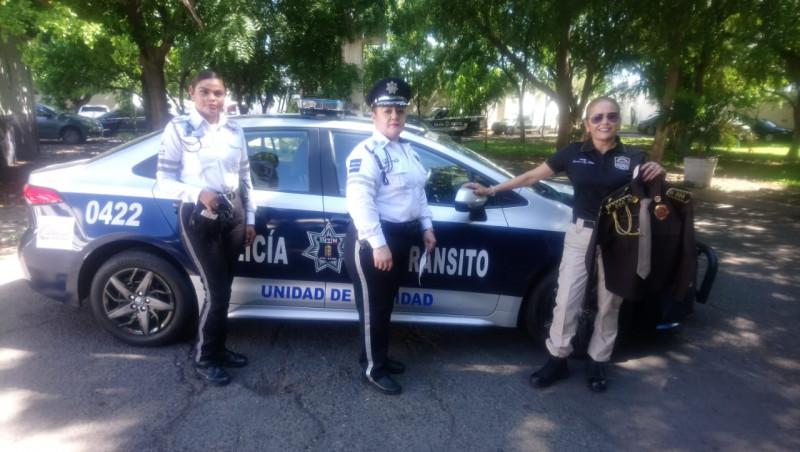 Mujeres policías , un trabajo de reconocimiento