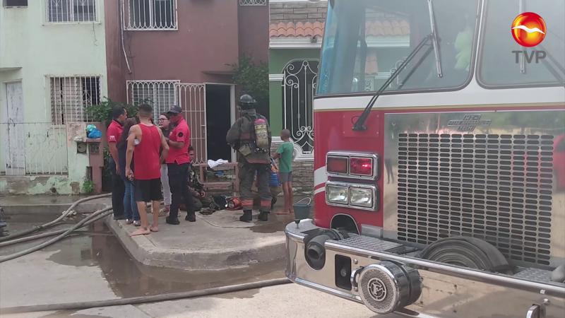 Se registra incendio en vivivienda del Alarcón