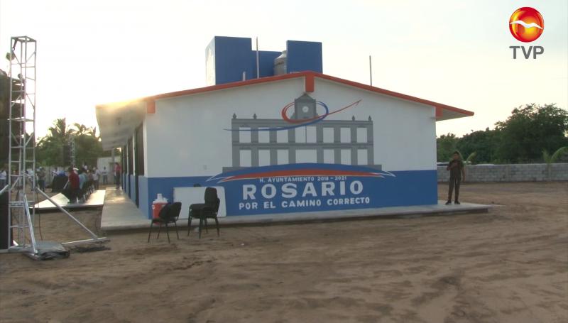 Inauguran telebachillerato en La Guásima, Rosario