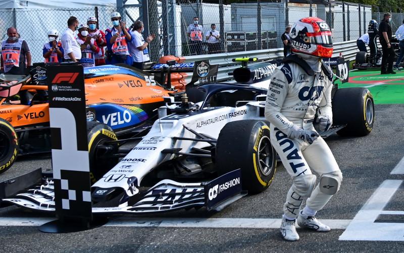 Pierre Gasly logró su primera victoria en la F1