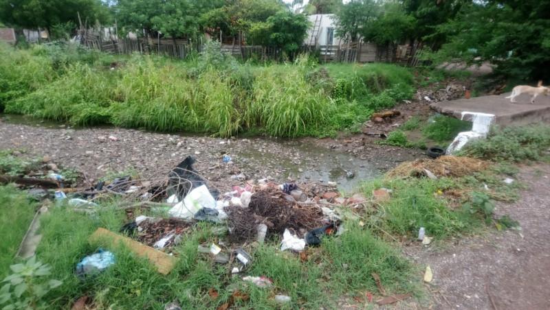 Arroyo de la Ampliación Toledo Corro en pésimas condiciones