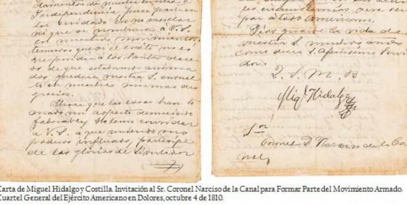 Pese a críticas, subastarán documentos invaluables de la Independencia de México y otros acontecimientos