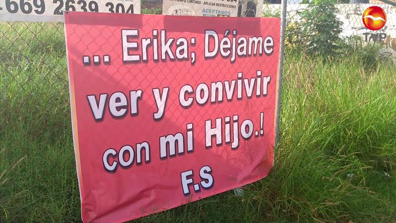 'Tapiza' Mazatlán de lonas pidiendo encontrarse con su hijo