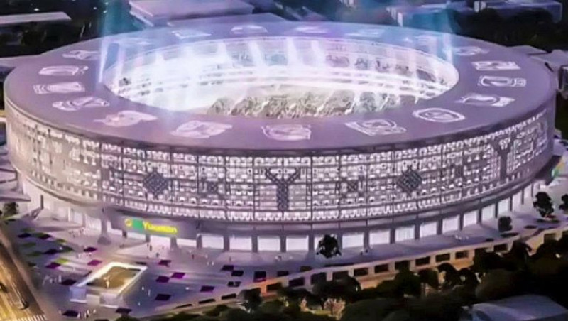 Estadio de Yucatán, el recinto que cumplirá estándares de FIFA y albergaría MLB