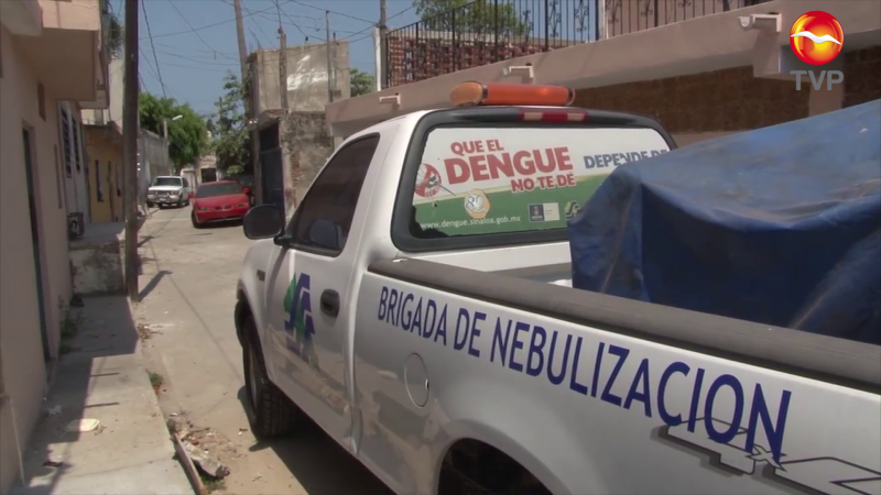 Fumigan 22 colonias contra el Dengue