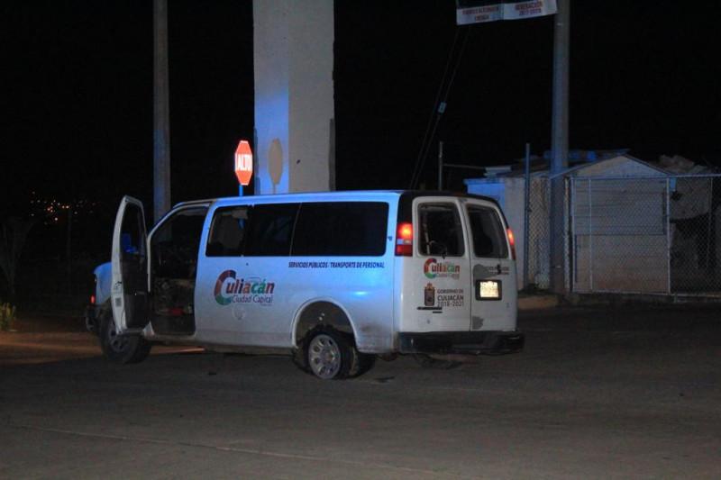 Roban camioneta del Ayuntamiento de Culiacán
