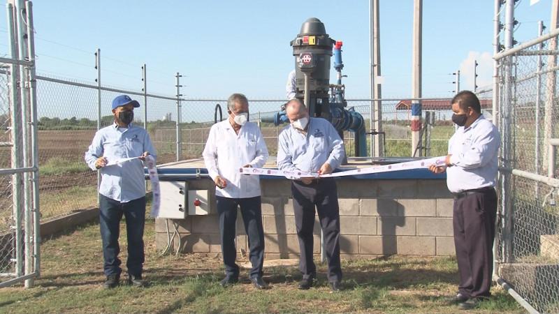 Inaugura JAPAC 2 nuevas captaciones de agua potable