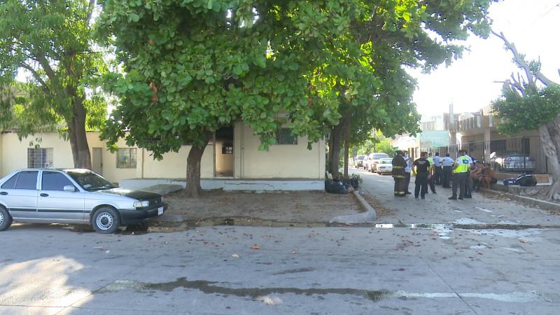 Explosión en casa del estudiante de la UAS en Mochis