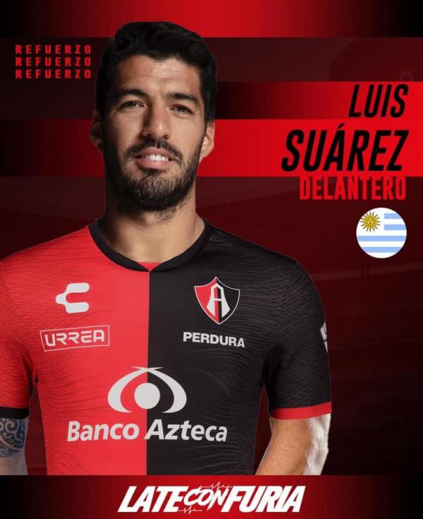 ¡Luis Suárez al Atlas! Aficionados lo ficharían con colecta de 35 pesos al mes