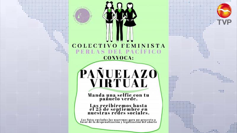 Buscarán con 'pañuelazo virtual' llegar a oídos del Congreso desde Mazatlán