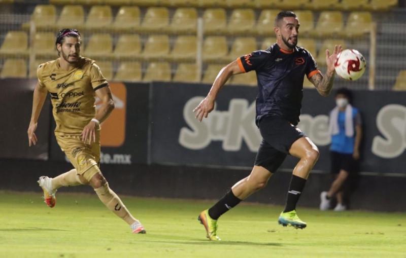 Dorados empata a dos goles con Correcaminos