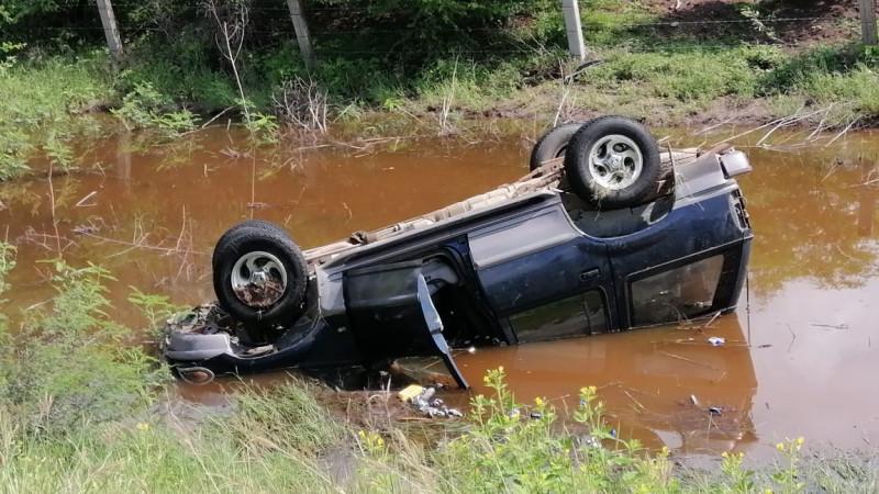 Accidente de carretera deja una persona fallecida en Higueras de Abuya