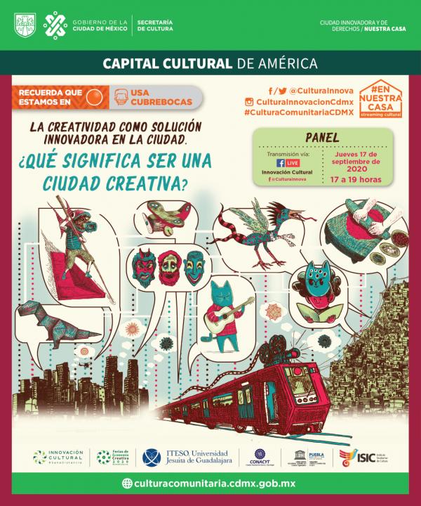 Papik Ramírez participará en panel nacional Ciudad Creativa
