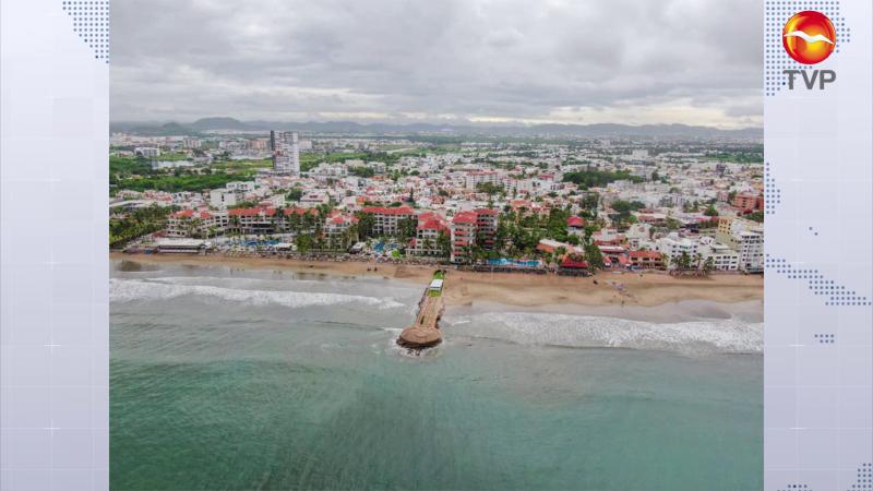 Playa Luna Bonita es también una 'playa limpia' en Mazatlán
