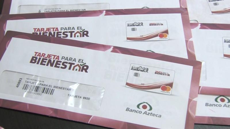 Inicia entrega de tarjetas del Bienestar a nuevos beneficiados